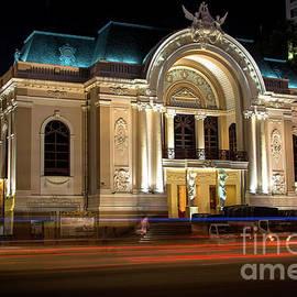 Saigon's Opera House by Rene Triay Photography