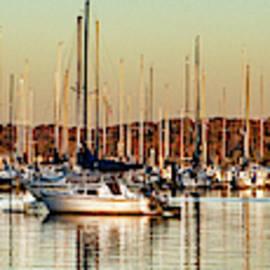 Sailboat Panorama by Sharon Popek