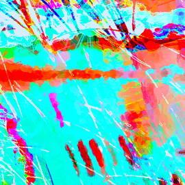 Sailing at Sunset by Linaji Creating