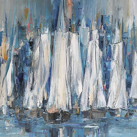 Sailing Boats No.10 by Ana Dawani