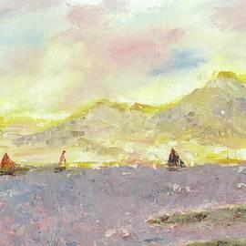 Sailing Choppy Seas 18-0001faa by G Wilson
