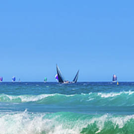Sailing On The Pacific by Az Jackson