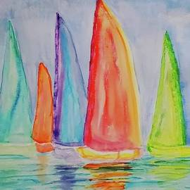 Sailing by Terry Feather