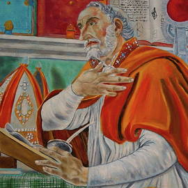 Saint Augustine by Belinda Nagy