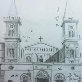 Saint Elijah Cathedral - Aleppo  by Mohammad Hayssam Kattaa