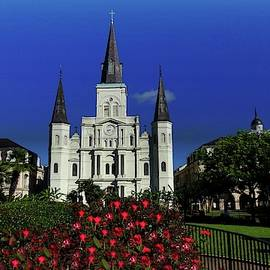 Saint Louis Cathedral 2 by Jeff Watts