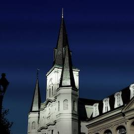 Saint Louis Cathedral 3 by Jeff Watts