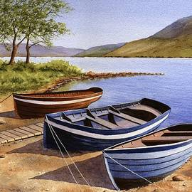 Saint Marys Loch  by Michael Baker