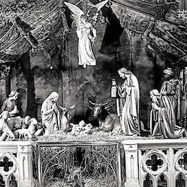 Saint Patrick's Cathedral manger scene in NYC by Geraldine Scull