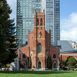 Saint Patricks Catholic Church by Bonnie Follett