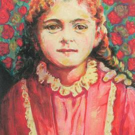 Saint Therese of Lisieux of the Child Jesus by Sue Kouma Johnson