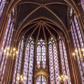 Sainte-Chapelle, Paris by Tessa Petry
