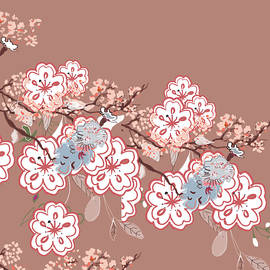 Sakura Flower Pattern by Marshal James