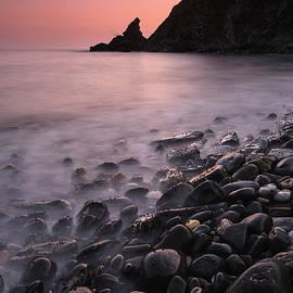 Salobrena coast. Granada. Mediterranean sea. Spain by Guido Montanes Castillo