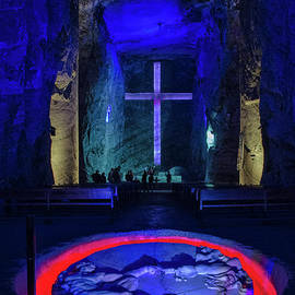 Salt cathedral in Zipaquira Colombia by Fernando Blanco Farias