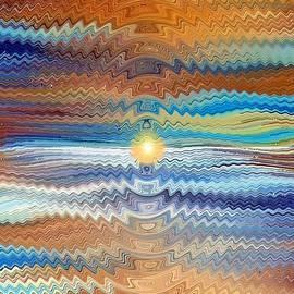 Salt Flats Sunrise by David Manlove