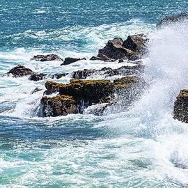 Saltwater and Rocks by Kris Hiemstra