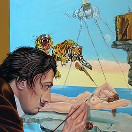 Salvador Dali Painting by Paul Meijering