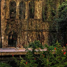 San Antonio Riverwalk Esquire Tavern by Judy Vincent