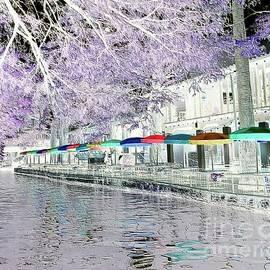 San Antonio Riverwalk Fantasy by Barbie Corbett-Newmin