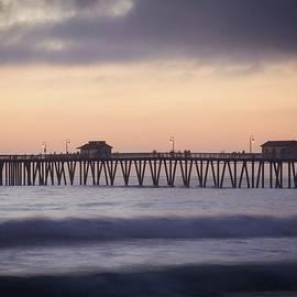 San Clemente Pier Purple Haze by Rebecca Herranen