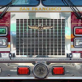 San Francisco Fire Truck by Dave Bowman