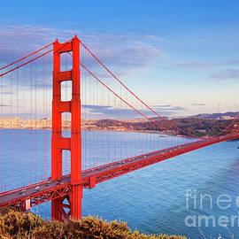 San Francisco Golden Gate Bridge, California by Neale And Judith Clark