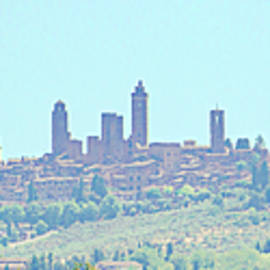 San Gimignano by Andrew Cottrill