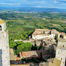 San Gimignano, the City of Beautiful Towers by Robert Murray