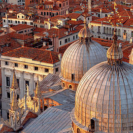 San Marco and the Rooftops of Venice by Andrew Cottrill