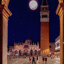 San Marco Square by Andrew Cottrill