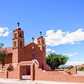 San Miguel Mission Socorro New Mexico by Debra Martz