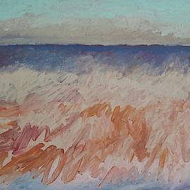 Sandbar original painting by Sol Luckman