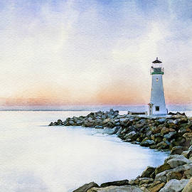 Santa Cruz Walton Lighthouse by Deborah League