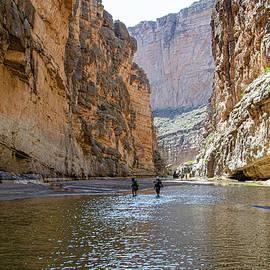 Santa Elena Canyon Trail by Jim Cook
