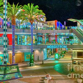 Santa Monica Place Mall Night Exterior by David Zanzinger