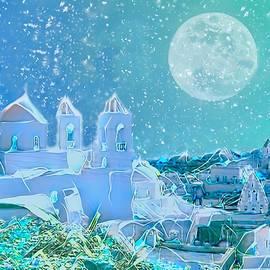 Santorini Nights by Christina Ford