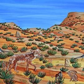 Saturday Morning Cartoon Special in Santa Fe by Mike Nahorniak