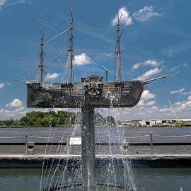 Savannah Peacemaker Barquentine  by Norma Brandsberg
