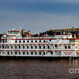 Savannah Riverfront by Norma Brandsberg