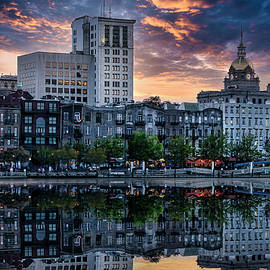 Savannah Riverfront by Shelia Hunt