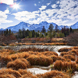 Sawtooth Autumn Glory by John Rogers