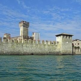 Scaliger Castle, Sirmione, Italy by Lyuba Filatova