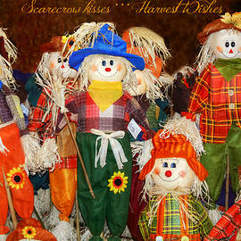 Scarecrow Kisses Harvest Wishes by Marilyn DeBlock