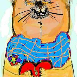 Old Soul Cat by Kathy Barney