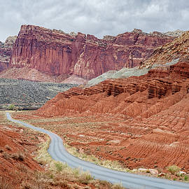 Scenic Drive Capitol Reef National Park Utah by Joan Carroll