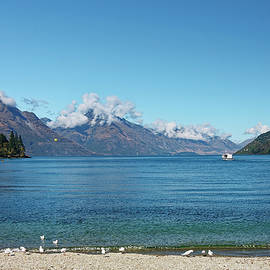 Scenic Lake Wakatipu by Sally Weigand