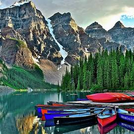 Scenic Landscape in Banff by Frozen in Time Fine Art Photography