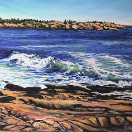 Schoodic Point, Maine by Eileen Patten Oliver