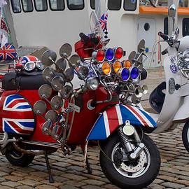 Scooters, Barbican, Plymouth, Devon,England. by Joe Vella